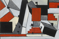Artist Roy Turner Durrant: Composition 1949